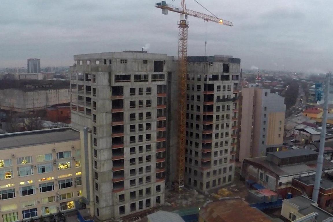 Строительство бизнесс-центра в Санкт-Петербурге