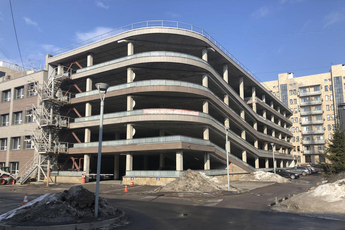 5-ти этажный паркинг ГСК «Песочный»