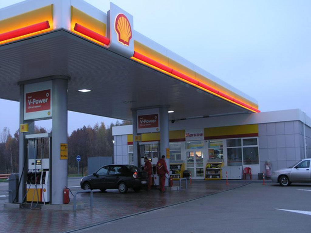 Строительство АЗС Shell