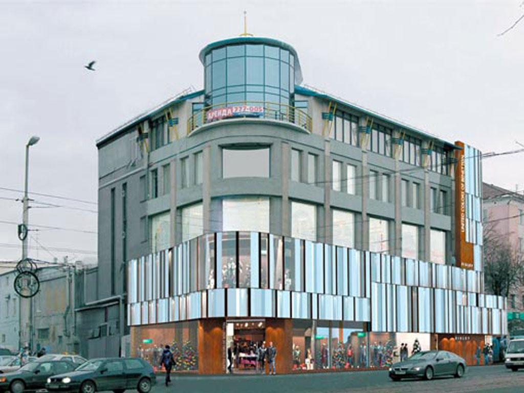 Реконструкция здания под торговый комплекс