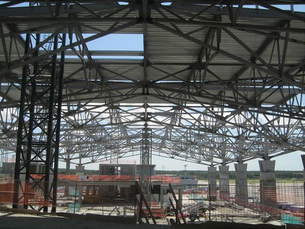 Строительство крытой арены спортивного комплекса