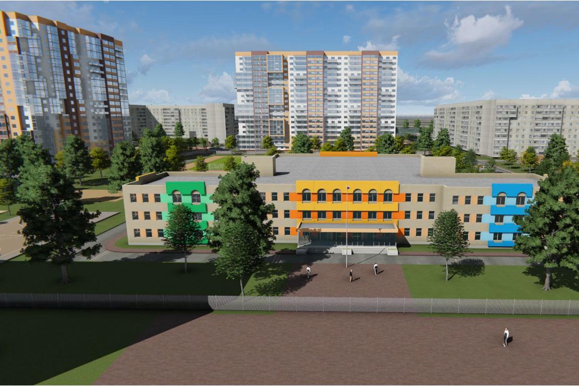 Строительство жилого комплекса в Ульяновске